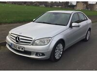 MERCEDES C200 BlueEFFICIENCY,2010ELEGANCE AUTO/TRIP,HPI CLEAR,LEATHER,NICE CON,DRIVE FAST&FAULTLESS