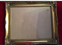 Large elegant Picture Frame with ornate features - measuring 51cm x 41cm