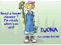 Cleaning services Iwona