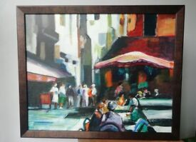 Impressionist original oil on canvas