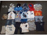 Boys 12-18 month's clothes bundle