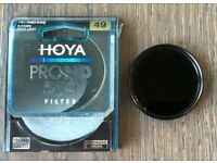 Hoya ProND 49mm ND500 filter