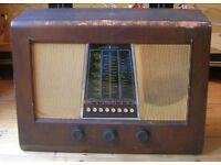 Bush DAC22 vintage valve radio