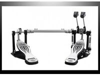 NATAL PRO Series FAST CAM Double Bass Drum Pedals & linkage SUPER Condition kick