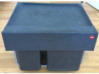 Hailo Pull Out Kitchen Cupboard Waste Dust Bin