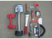 Complete Carpet Fitters Tools
