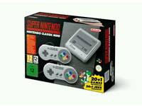 Snes mini. Brand new in delivery packaging