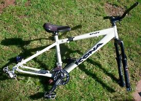 KONA STUFF (M) Hard Tail Dirt Jumper Frame, MARZOCCHI Forks & DIRT WITCH Wheels (Exeter / Torquay)