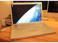 APPLE MACBOOK PRO 17 INCH INTEL CORE DUO 2.16GHZ 2GB RAM 250GB HDD WIFI WEBCAM