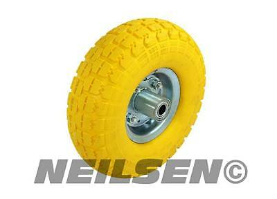 1x  sack truck replacement wheel tyre SOLID tire truck tow cart barrow trolley