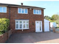 FOUR BEDROOM HOUSE TO RENT IN ASHFORD near to staines shepperton sunbury feltham stanwell