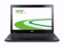 "Manufacturer Refurbished Acer Aspire One E 725-C7Xkk 725 11.6"" Netbook Black C70 2GB 320GB Was: £330"