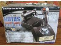 Thrustmaster Cougar HOTAS - excellent condition and boxed