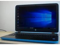 ***Hp BeatsAudio Laptop For Sale**Blue**Fully Working**Comes With Charger**Bargain £150**