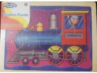 Brand New and Sealed Large (30cm by 40cm) Wooden Train puzzle