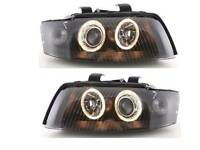 Audi a4 b6 salon angel eyes headlights depo