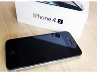 I phone 4s 8gb o2 fully boxed