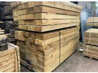 Pressure Treated Timber Sleepers