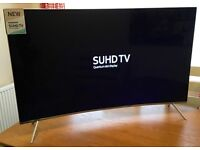 SAMSUNG 49in Curved 4K SUHD - HDR 1000 - *QUANTUM DOT* Smart TV -2200hz- Freeview/SAT HD -WIFI