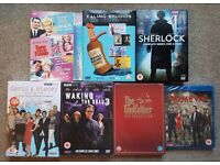 DVD'S AND TV BOXSETS ( SOME OF THESE ARE STILL SEALED ) ALL £3 EACH.