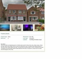 WANTED COUNCIL HOUSE EXCHANGE 2 BED, NEWBUILD HORNSEA, TO MANC,HUDDERS,RURAL AREA, ALL CONSIDERED