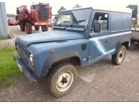 Land Rover Defenders Wanted