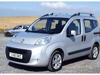 2011 61 Fiat Qubo, 1.3TD Dynamic MPV 5d Dualogic, New MOT, Service & Brakes with History