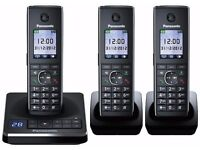 Panasonic KX-TG8563EB Triple Cordless Phone - Brand new in box