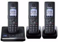 Panasonic KX-TG8563EB Triple Cordless Phone - Brand new in box