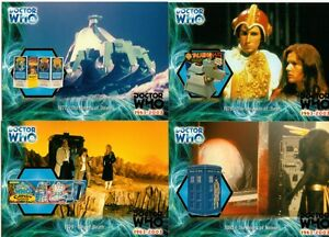 Dr Doctor Who 40th Anniversary Foil Chase Card Set - Full 14 Card Chase Set