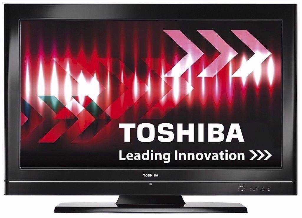 Toshiba 40 inch Full HD 1080p LCD TV - Broken