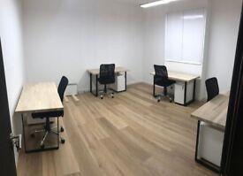 Wimbledon Park industrial style offices - £290/desk per month