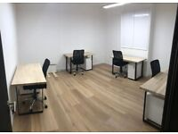 Wimbledon Park industrial style offices - £290/desk per month