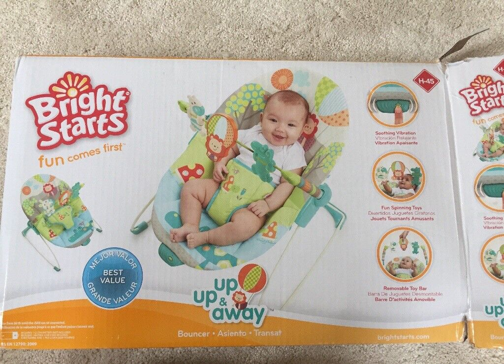 Nearly new Bright Starts Bouncer