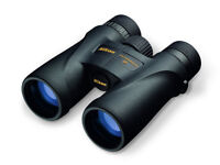 Nikon Monarch 12 x50 Waterproof Binoculars with case and as new hardly used