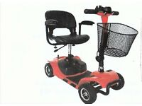 PRIDE ELITE CARE BOOT MOBILITY SCOOTER. Used twice only.