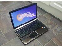 AS NEW Boxed HP Pavilion DV6002 AMD x2 Dual 1.80 GHz 4GB RAM 650 GB HDD Laptop HDMI USB3 Laptop PC