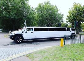 Hummer H2 Limousine £295 / Chrysler Limo £250 / Range Rover Limo £550 / Limousine Hire London