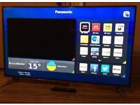 """Panasonic 55"""" LED 4K UHD 3D SMART TV"""