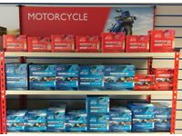 Motorcycle Batteries (Brand New) starting at just £19.99!