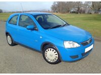 STRIKING IMMACULATE RELIABLE CORSA. LOW MILEAGE. LONG MOT. DRIVES LOVELY.
