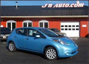 2014 Nissan Leaf S+ 6.6 kw Recharge 110v,220v et chademo 400v