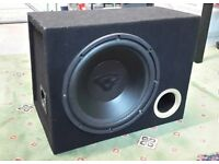 "Cerwin Vega 12"" Car Sub woofer with enclosure 1000W high quality equipment Bargain subwoofer"
