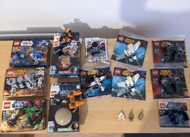Lego Star Wars Sets and Minifigures