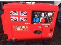 Diesel Perkins generator 19.5kva