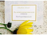 ****ALLSORTS HOME SERVICES**** all aspects of maintaining your home