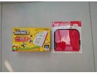 Nintendo 2DS Console, Super Mario Bros 2, Nintendo Case & Nintendo Charger