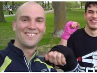 Boxing Sparring beginner sparring