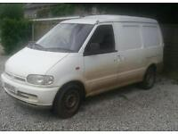 Nissan cargo vanetteSpares or repairsi2.3 £750 ono
