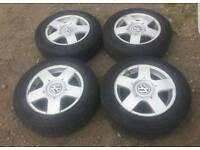 VW Golf GTI MK4 / Bora /Polo Alloy Wheels With Tyres Cheap Set